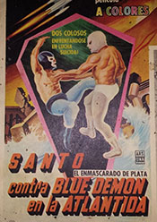 santo blue demon