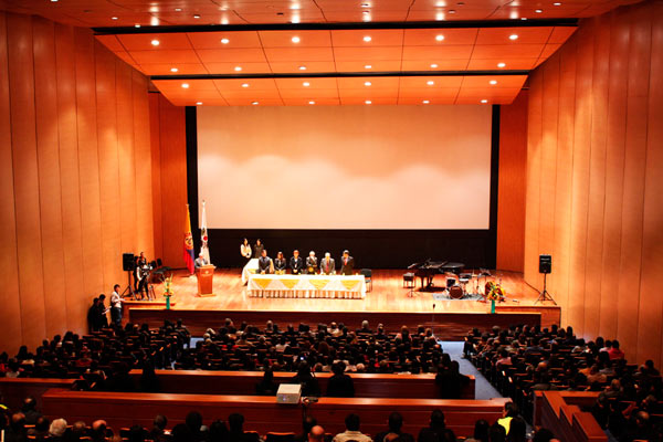 Teatro de bogot for Estudios de arquitectura bogota
