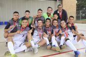 El equipo masculino de fútbol sala alcanzó el bronce en la competencia