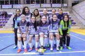 El equipo femenino alcanzó el subcampeonato en fútbol sala