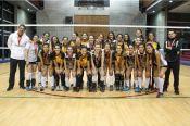 La Universidad Central y la Universidad de los Andes se enfrentaron en la final femenina de voleibol