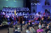La Orquesta Sinf&oacutenica de la UC interpretó piezas ic&oacutenicas de Pyotr Ilich Tchaikovsky y Anton&iacuten Dvorak