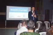 Arnaud Peral, director del PNUD, organización que lidera el programa Manos a la paz