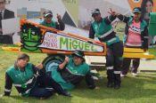 Grupo de recicladores del sector Centro invitados por el programa de Administraci&oacuten de Empresas