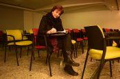 """Lina María Pérez Gaviria, escritora de la obra """"El mismo lado del espejo"""""""